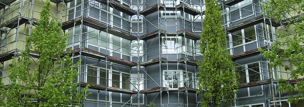 Detterbeck Gerüstbau in München bietet Ihnen alles rund um das Gerüst.